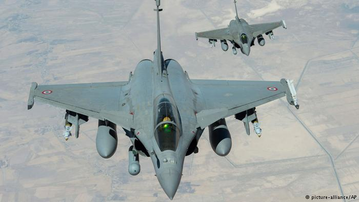 France carries out airstrikes against IS in Syria