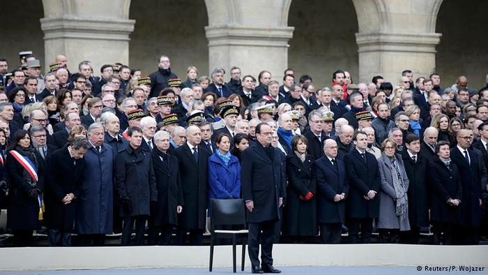 Paris mourns attack victims