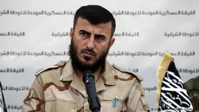 #Syrian rebel leader #Zahran Allouch reportedly killed in airstrike
