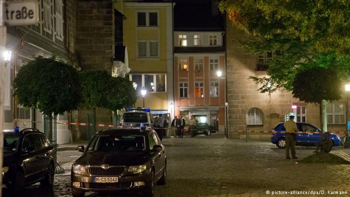'Syrian## asylum# seeker' behind #Ansbach bomb blast