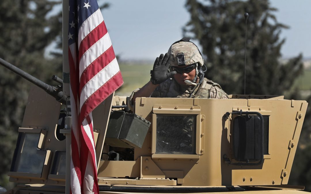 U.S. starts withdrawing supplies, but not troops, from Syria