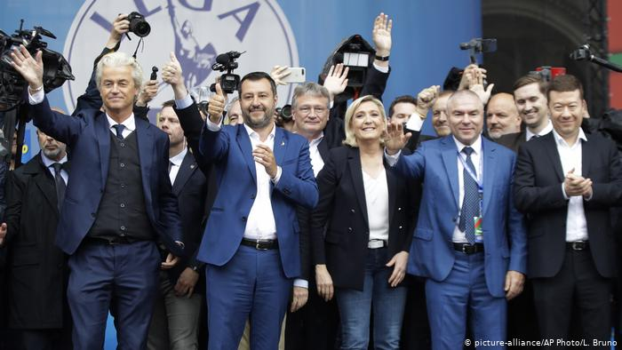 European Parliament election, big challenge to the traditional party!