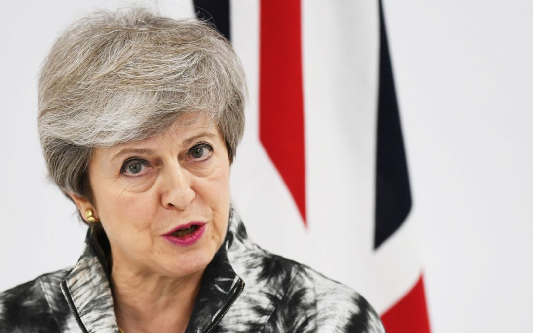 May is calling on tech giants to co-operate with security agencies to stop terrorists from the web