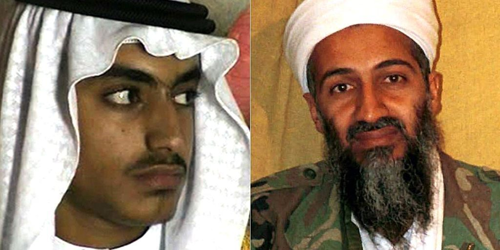Hamza bin Laden emerging leader in the Al-Qaeda was killed