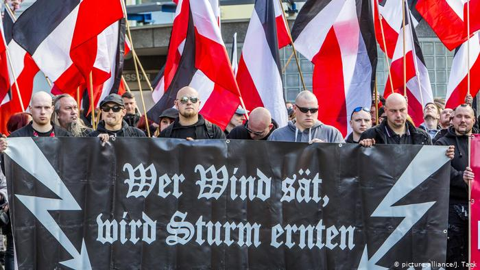 Germany right-wing,  the result of deep-seated racism