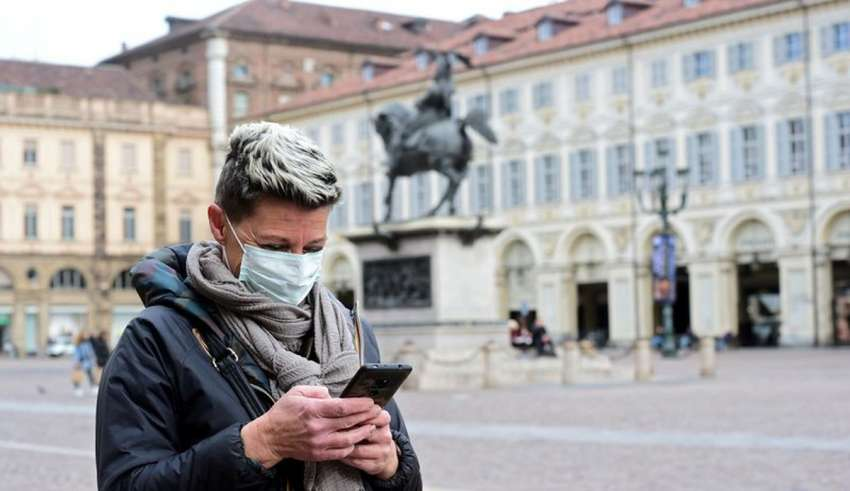 European using mobile data to measure public social distancing orders