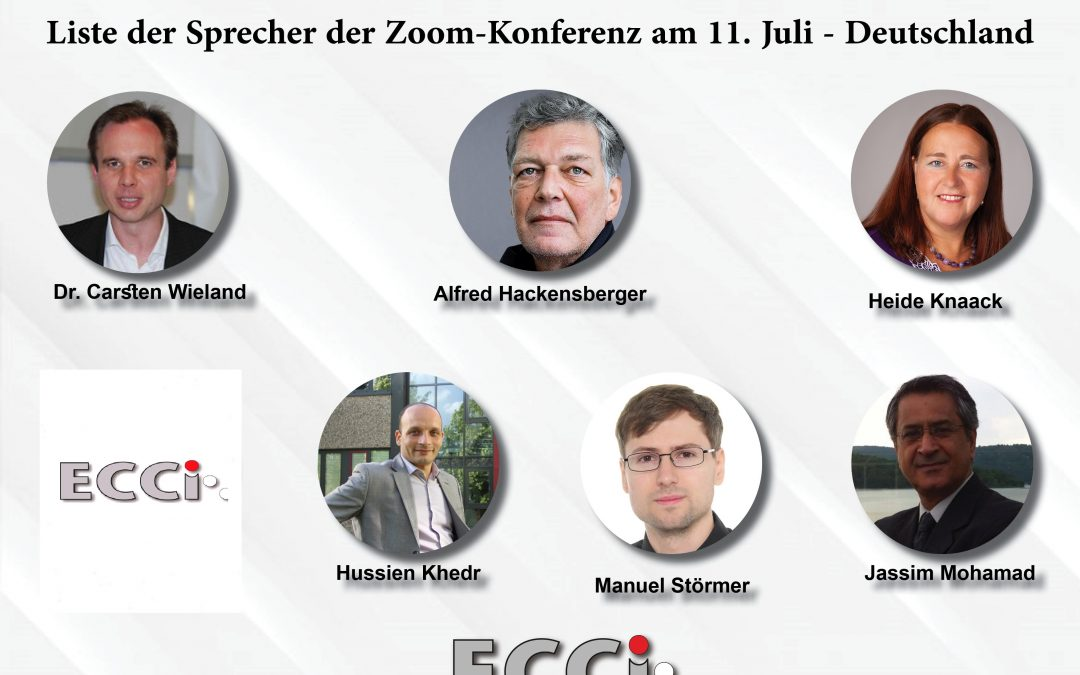 The European Center ECCI Zoom Conference on Turkey's interference in Libya