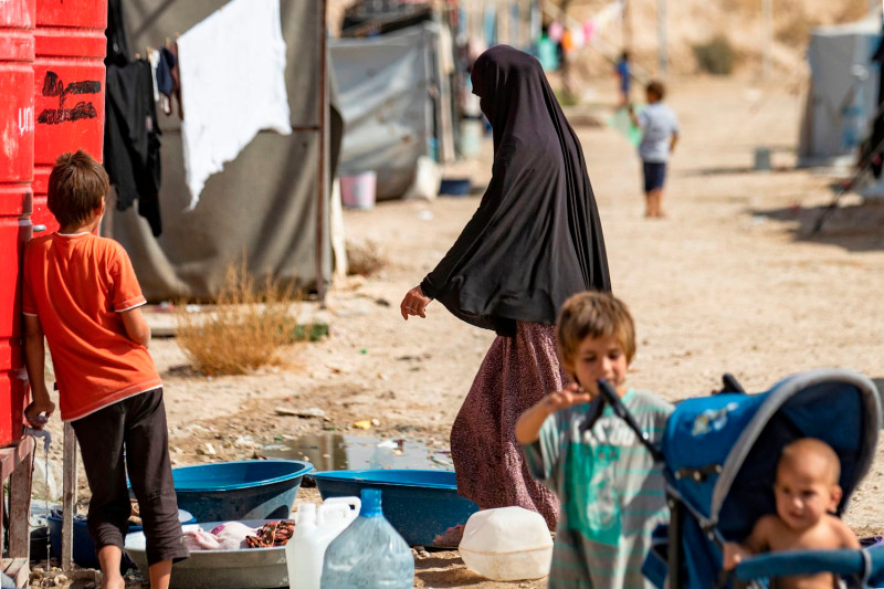 Is the EU obligated to repatriate its children from northeast Syria ?
