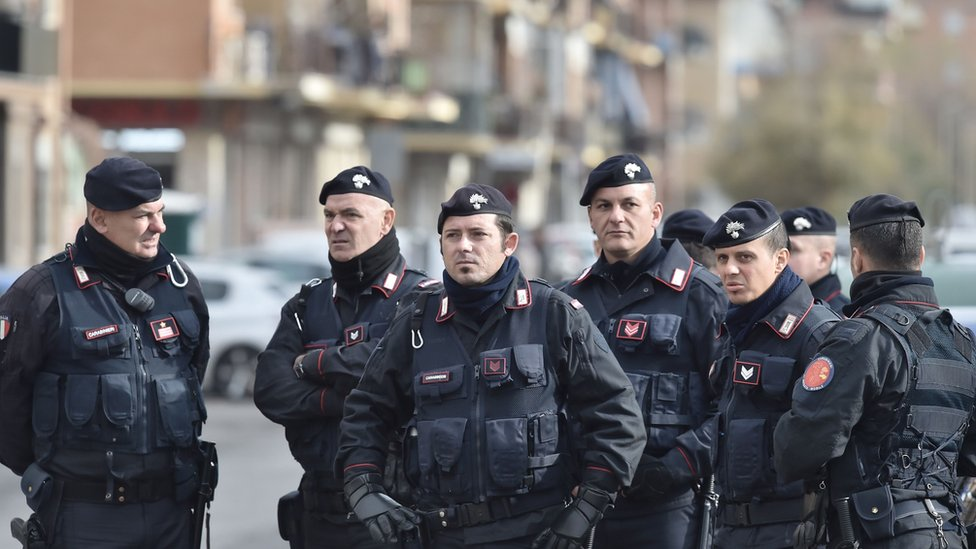 Italian police arrested a female foreign fighter