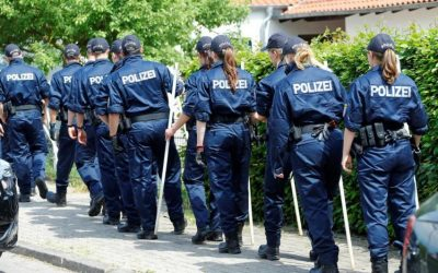 Germany..29 police officers have been suspended for sharing neo-Nazi images