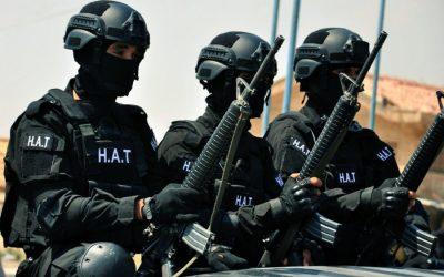 Counterterrorism.. ISIS attacks in Syria