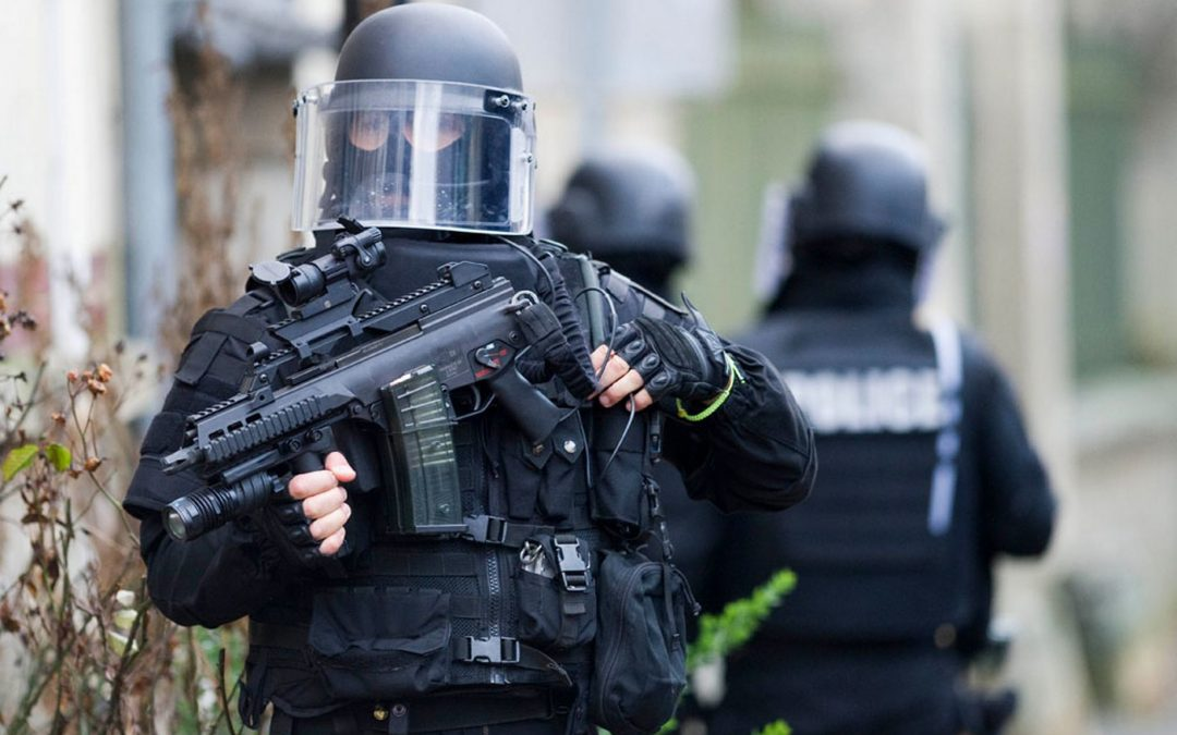 Counter terrorism ـ Heavy security in France