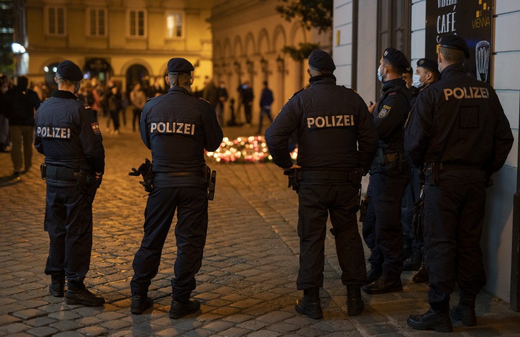 The head of anti-terror operations in the Austrian capital Vienna was suspended