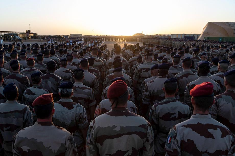 France announcing a revamp of France's military deployment in the Sahel