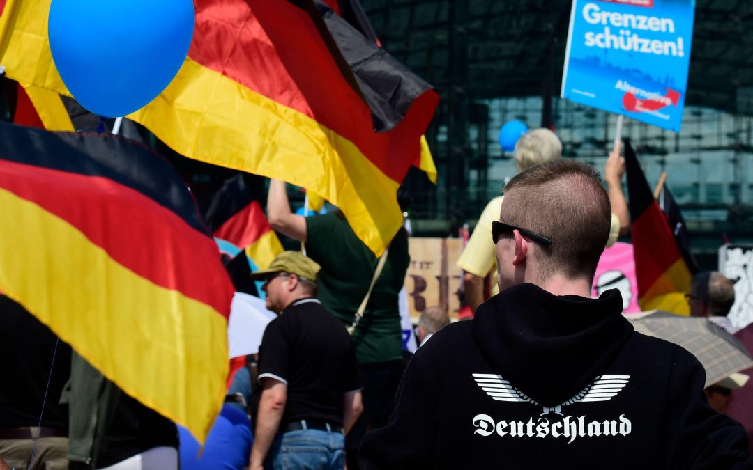 The far-right Alternative for Germany party remains strong in the east