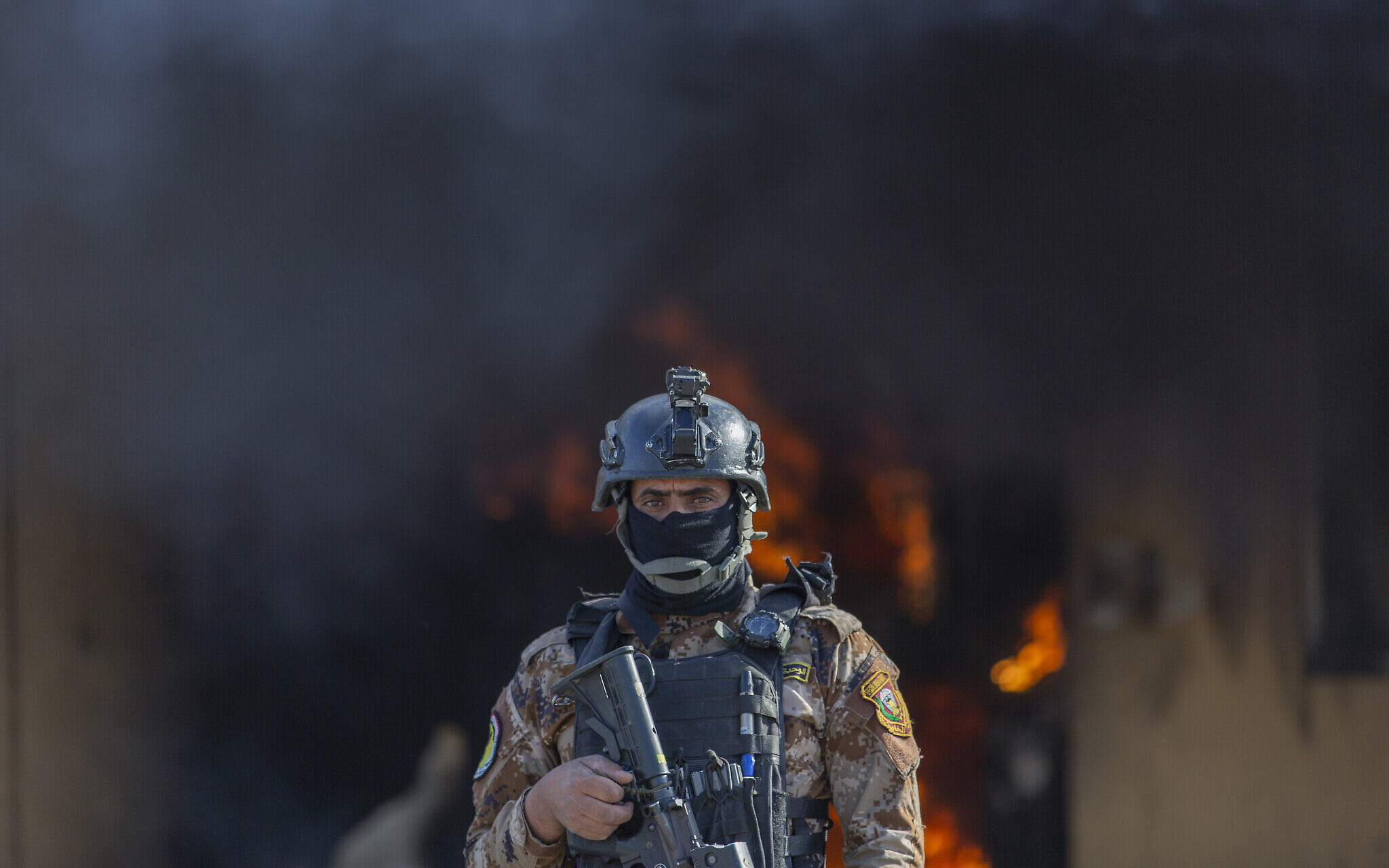 Counter Terrorism in Iraq - ISIS finance chief captured